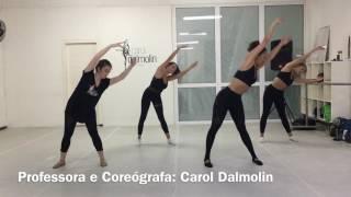 Aquecimento coreografado jazz