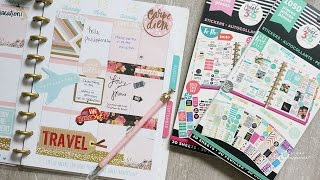 Traveling w/ my Happy Planner | Switched to Mini Disc | PWM Wk #28 | Charmaine Dulak