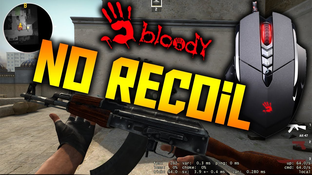 A4tech Bloody 5 NoRecoil Macro CSGO Last update ! 2016-August