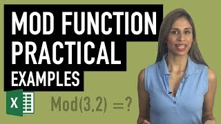 Excel MOD Function - Easy Explanation & Practical Examples of MOD for Work