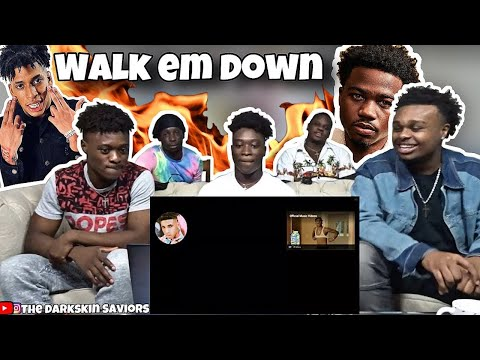 NLE Choppa – Walk Em Down feat. Roddy Ricch | REACTION!