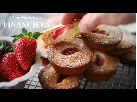 Easy Financiers cake recipe for home : French baking tutorial for beginners