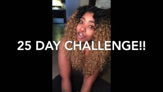How I Lost 60+ Lbs! 25 DAY CHALLENGE!