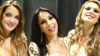 Michelle Nunes, Julie Ferreira e Lidia Barbieri
