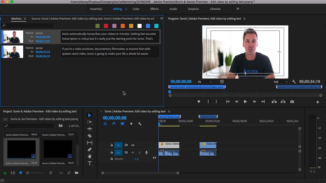 Video producers love Sonix | Quickly transcribe your videos