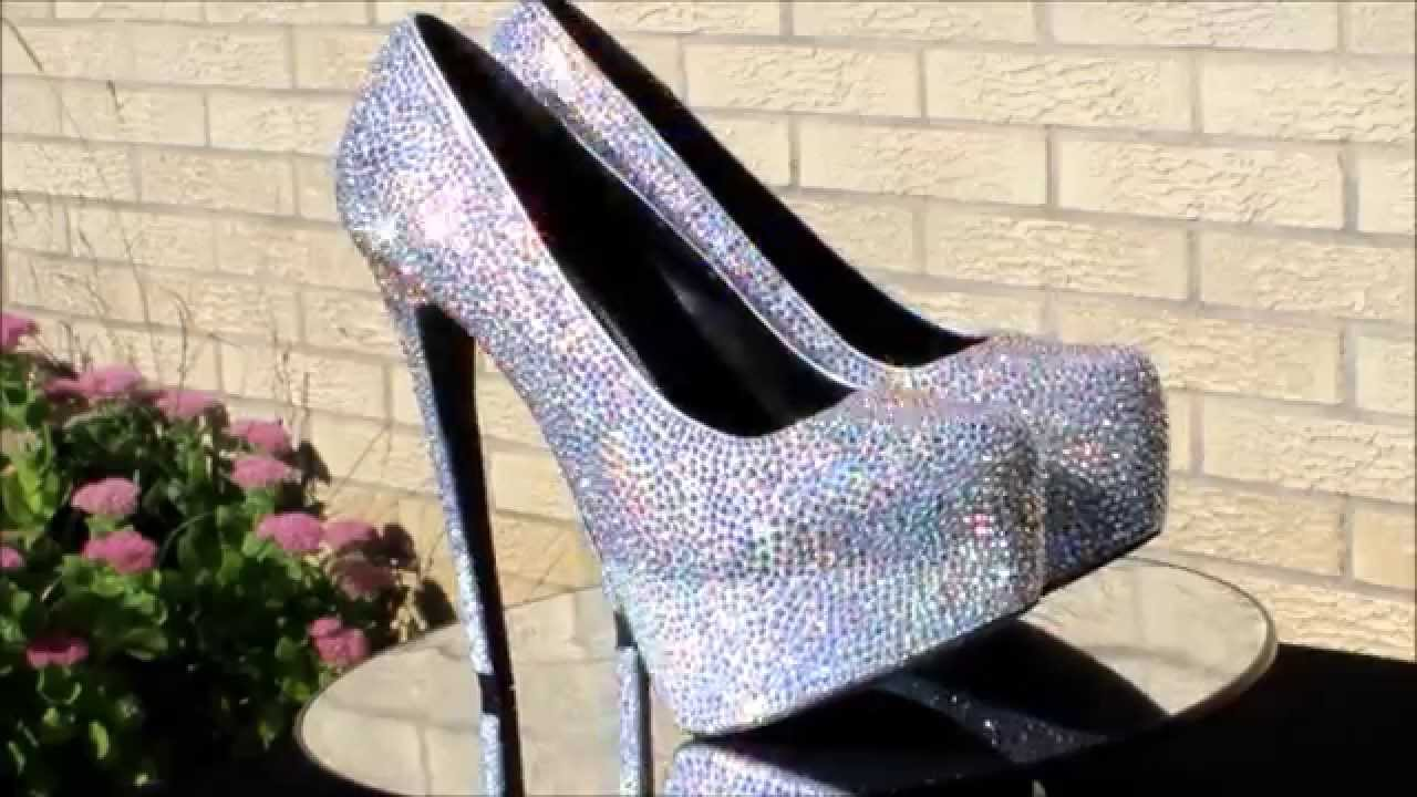 Strass shoes sparkly wedding shoes custom strass shoes youtube strass shoes sparkly wedding shoes custom strass shoes junglespirit Image collections