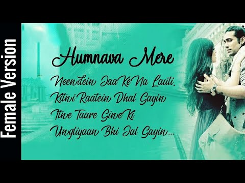 Humnava mere female version lyrics