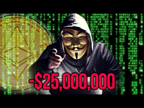 How Hacker Stole $25,000,000 in Cryptocurrency