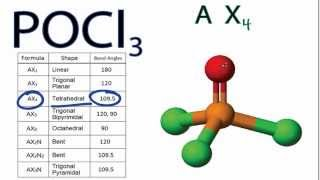 Play youtube video: POCl3 Lewis Structure and Molecular ...