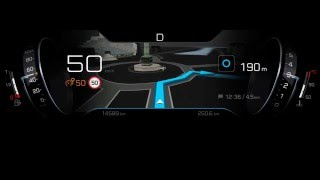Peugeot i-Cockpit Nuova grafica 2016