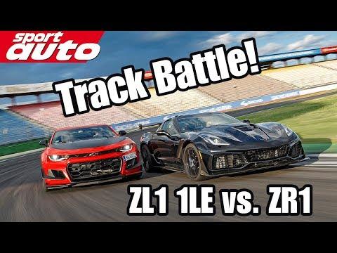 Track Battle: Corvette ZR vs. Camaro ZL LE | sport auto