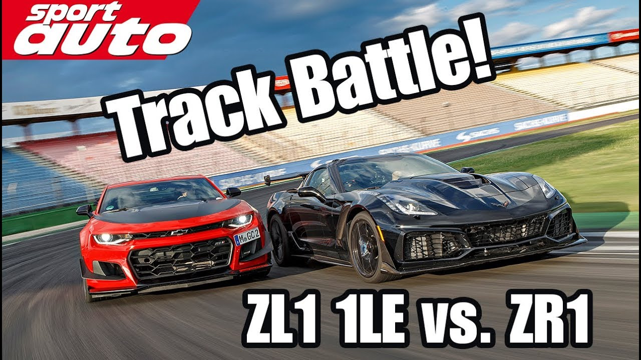 Track Battle Corvette Zr1 Vs Camaro Zl1 1le Sport Auto