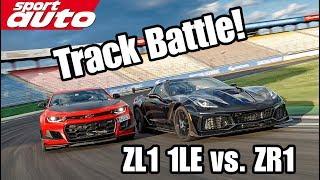 Track Battle: Corvette ZR1 vs. Camaro ZL1 1LE | sport auto