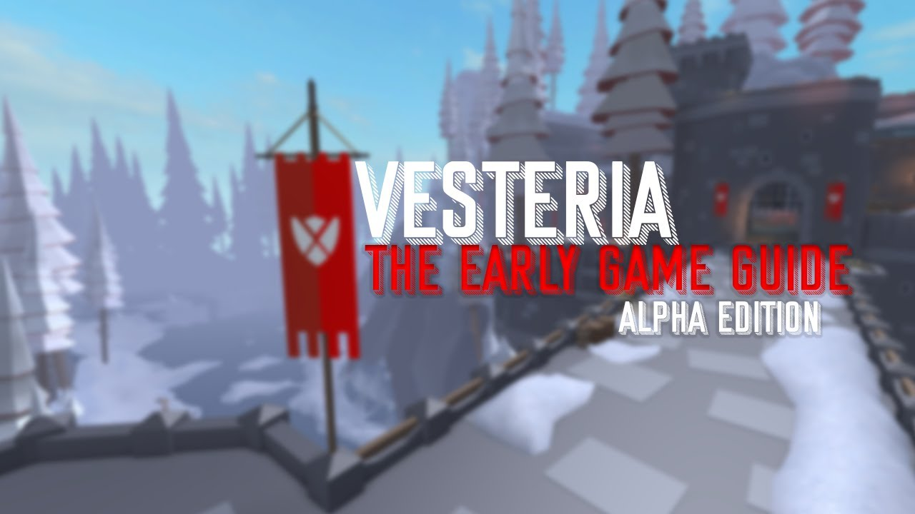 Vesteria Where Is The Barber S Guide To Vesteria 1 Roblox Vesteria Early Game Guide Vesteria Alpha Youtube