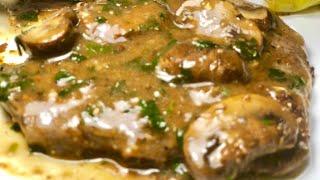 Easy Steak & Mushroom Pan-Gravy | One-Pan Dinner | Best Gravy Recipe
