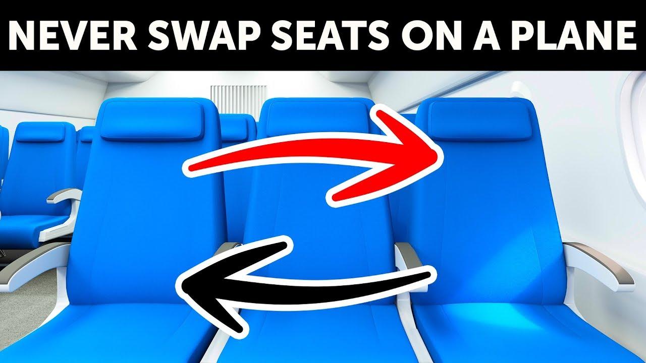 Por que ninguém deveria trocar de assento em um avião + vídeo