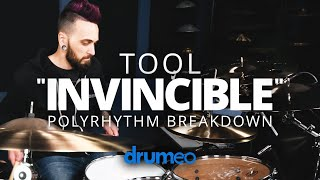 """How To Play """"Invincible"""" By Tool On The Drums"""