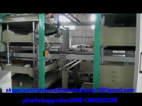 automatic disposable food container making machine WhatsApp 0086-13668652286