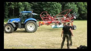 Kverneland's latest machinery