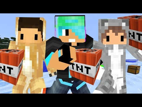 Minecraft / The Bomber Bridges with Kitty and Doge / Gamer Chad Plays