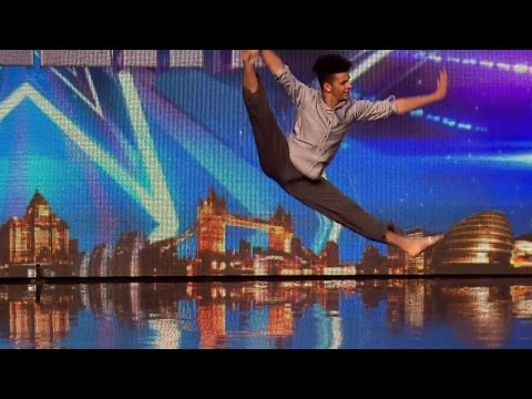 Britain's Got Talent 2015 S09E04 Jonathan Lutwyche Incredible Contemporary Dance Routine