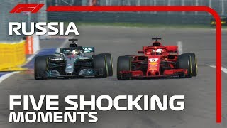 5 Shocking Moments From The Russian Grand Prix