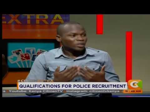 Qualifications for police recruitment #Viewsonthenews