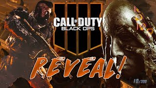 Black Ops 4 Community Reveal Live Stream Reaction! BO4 Gameplay, Multiplayer & Zombies Reveal