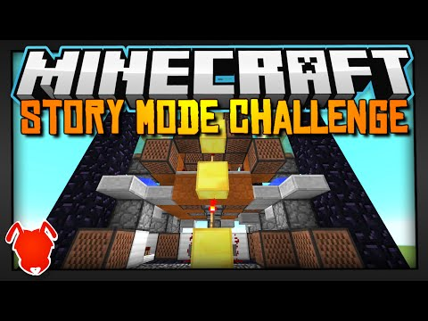 Minecraft | STORY MODE CHALLENGE! | Build a 7x7 Redstone Machine!