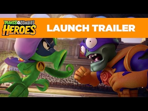 Plants vs. Zombies Heroes Launch Trailer