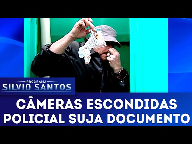 Policial Suja Documento | Câmeras Escondidas (03/03/19)