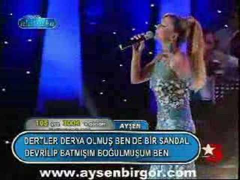 Popstar alaturka 105 Ayşen 25-02-2007 www.aysenbirgor.com