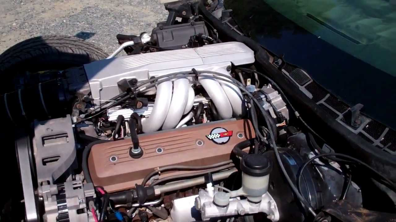 1986 C4 Corvette L98 235 Hp Engine
