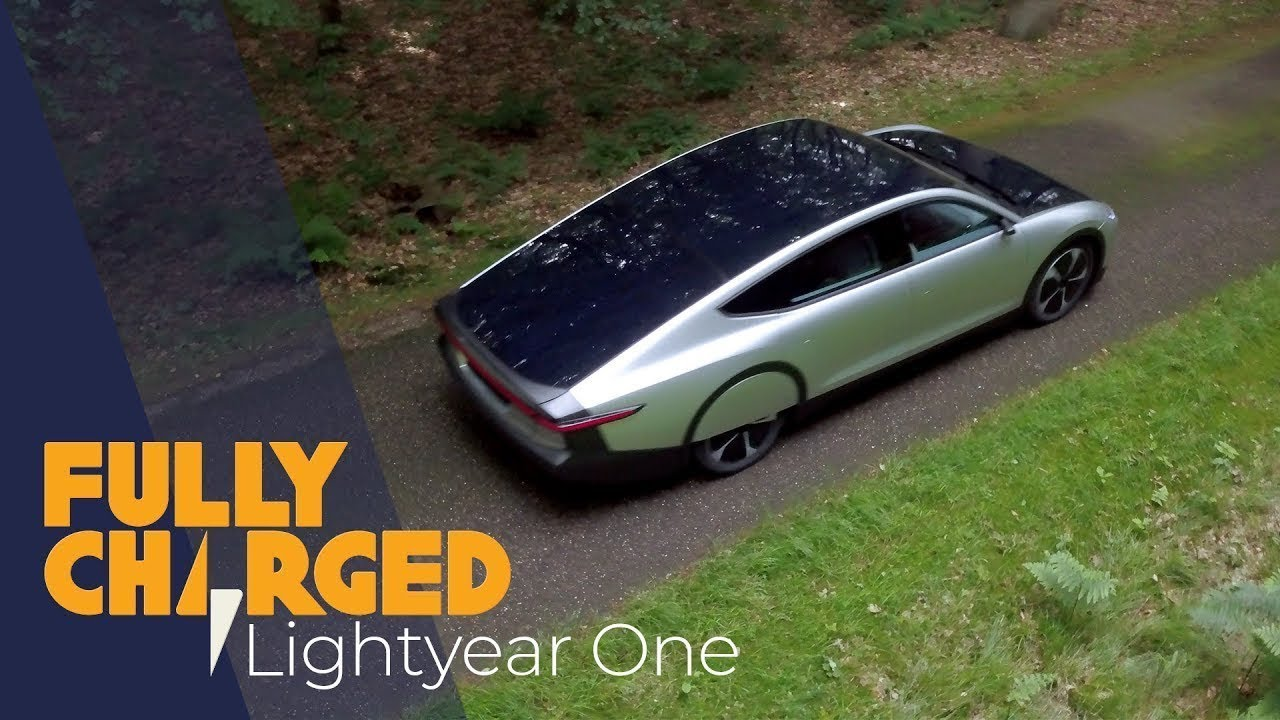 Download Lightyear One solar powered electric car -  exclusive first look   Fully Charged