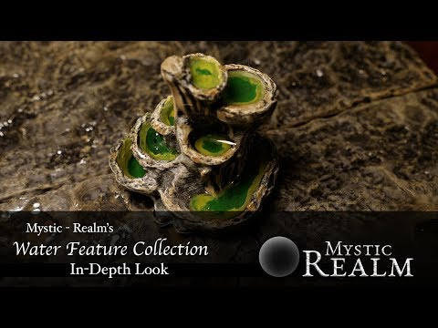 In-Depth Look at Mystic-Realm's Water Feature Collection (3D Printer Design Print Review)