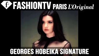 Georges Hobeika Signature Spring/Summer 2015 Runway Show | New York Fashion Week NYFW | FashionTV