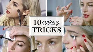 10 Makeup Tricks When You're Late