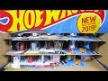 2019 A Hot Wheels Case Unboxing with brand new 2019 New Models!