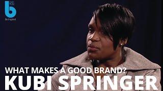 Bernardo Moya talks to Kubi Springer. What makes a good brand?