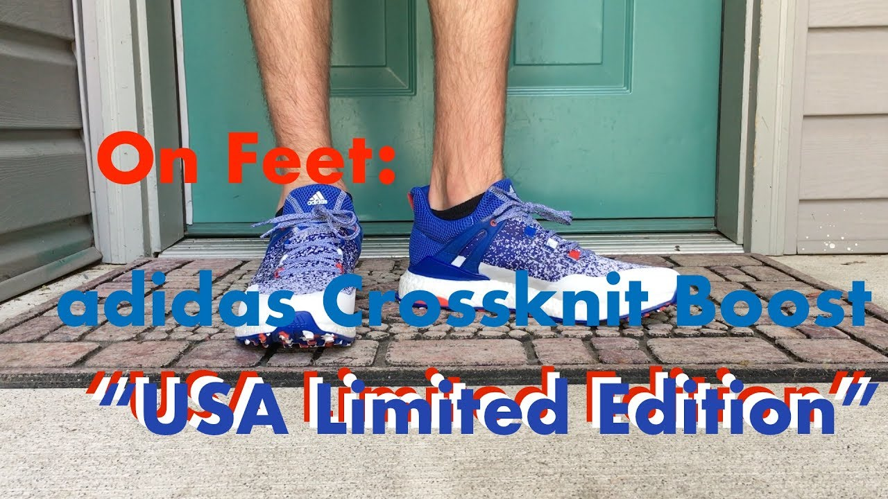 On Feet Adidas Crossknit Boost Usa Limited Edition Youtube