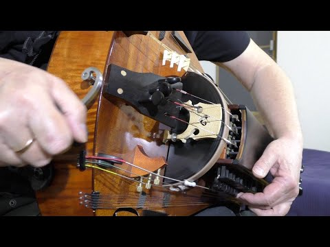 Day By Day. Romantic Tune. Hurdy-Gurdy & Guitar