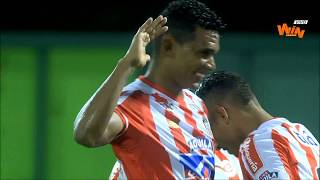 Alianza Petrolera vs Junior (0-3) | Liga Aguila 2018-II  | Fecha 18