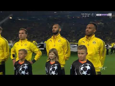 Liga Champions 2017/2018 borussia Dortmund vs Real Madrid