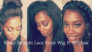 RPGhair.com| Affordable Kinky Straight Lace Front Wig under $89