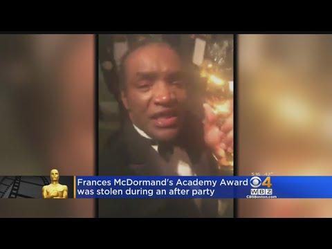 Frances McDormand's Oscar Trophy Stolen, Man Arrested