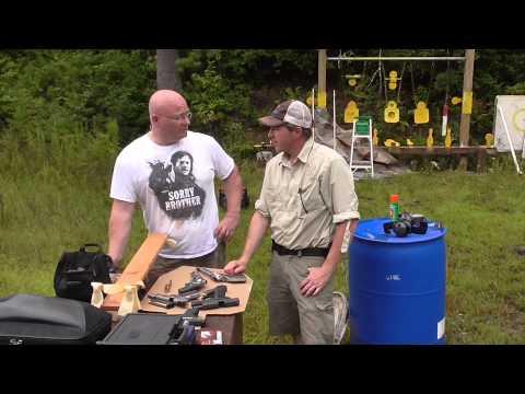 Can A Slingshot Hit Harder Than Handguns? The Shootout.