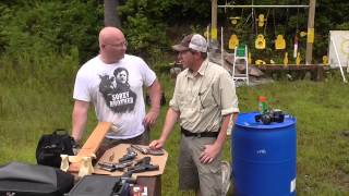 Can a slingshot hit harder than handguns? The Shootout. thumbnail