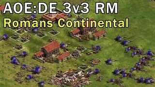 Age of Empires: Definitive Edition - 3v3 RM Gameplay - eartahhj - 09/02/2018