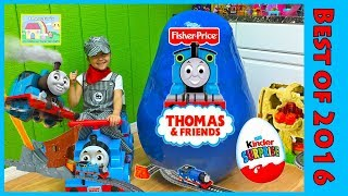 Giant Thomas and Friends Surprise Egg Unboxing Toys Compilation with Toy Review for Kids