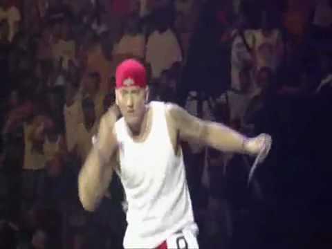 Eminem Rain Man (live NYC)